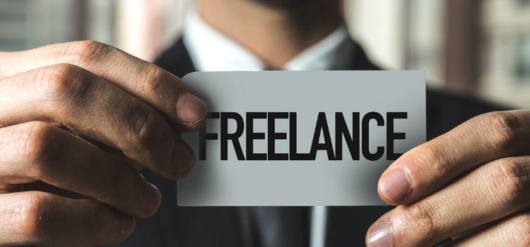 Rondkomen als freelancer zijnde